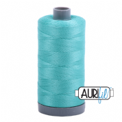Aurifil 28 Cotton Thread - 1148 (Turquoise)